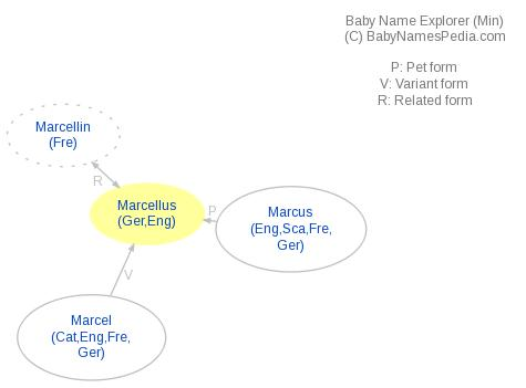 Baby Name Explorer for Marcellus