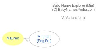 Baby Name Explorer for Maureo