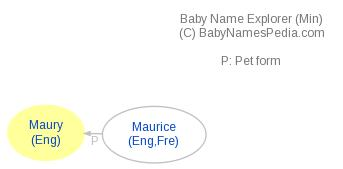 Baby Name Explorer for Maury