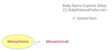 Baby Name Explorer for Menachema