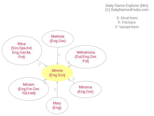 Baby Name Explorer for Minnie