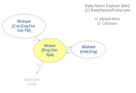 Baby Name Explorer for Misael