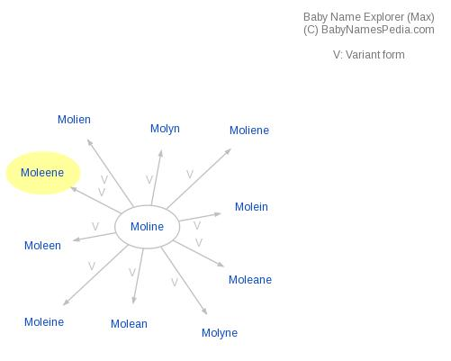 Baby Name Explorer for Moleene