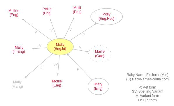 Baby Name Explorer for Molly