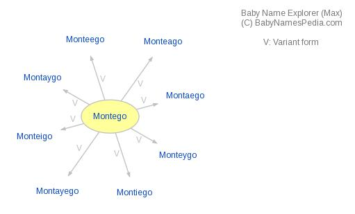 Baby Name Explorer for Montego