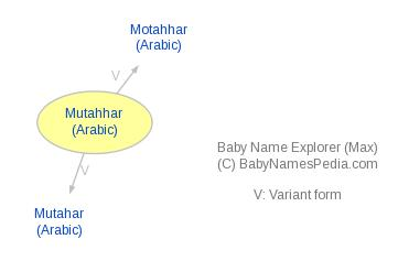 Baby Name Explorer for Mutahhar