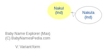 Baby Name Explorer for Nakul