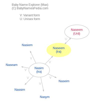Baby Name Explorer for Naseem