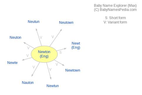 Baby Name Explorer for Newton