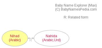 Baby Name Explorer for Nihad