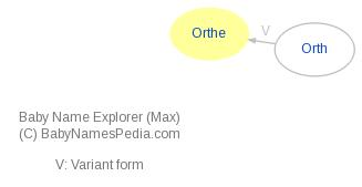 Baby Name Explorer for Orthe