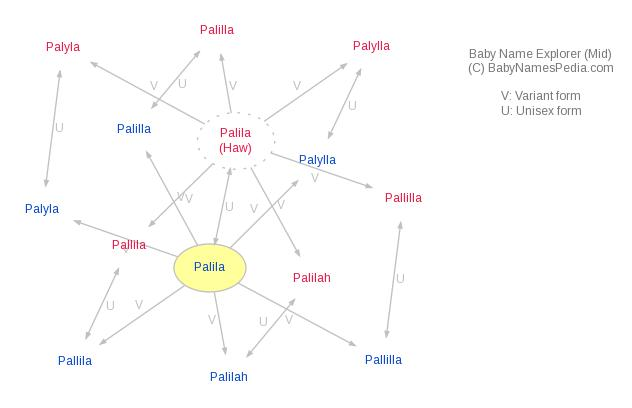 Baby Name Explorer for Palila