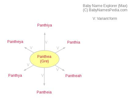 Baby Name Explorer for Panthea