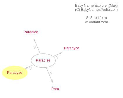 Baby Name Explorer for Paradyse