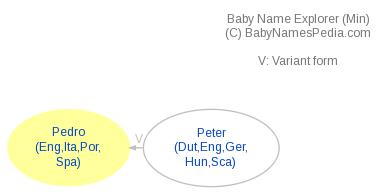 Baby Name Explorer for Pedro