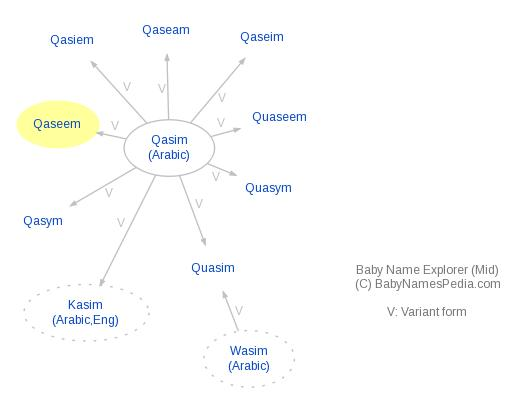 Baby Name Explorer for Qaseem