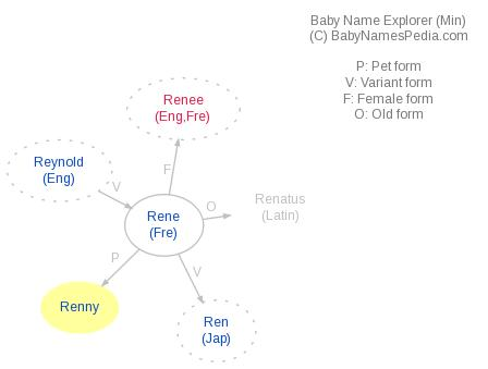 Baby Name Explorer for Renny