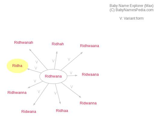 Baby Name Explorer for Ridha