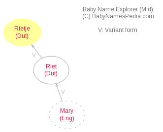 Baby Name Explorer for Rietje