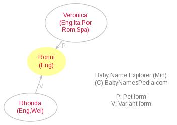 Baby Name Explorer for Ronni