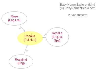 Baby Name Explorer for Rozalia