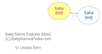Baby Name Explorer for Saha