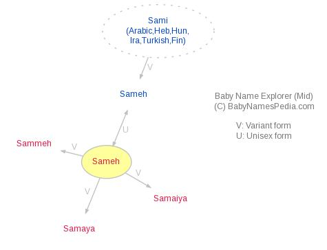Baby Name Explorer for Sameh
