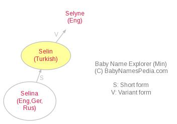 Baby Name Explorer for Selin