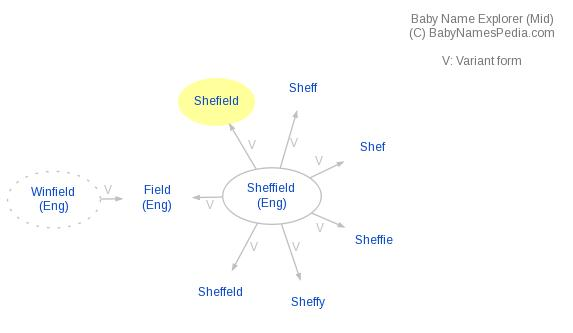 Baby Name Explorer for Shefield