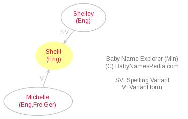 Baby Name Explorer for Shelli