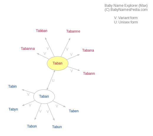 Baby Name Explorer for Taban
