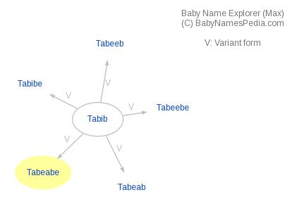 Baby Name Explorer for Tabeabe