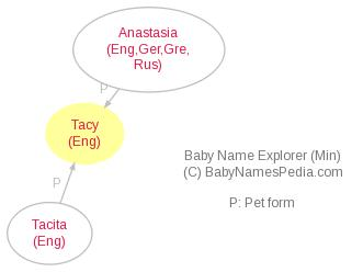 Baby Name Explorer for Tacy