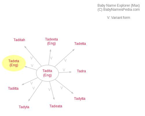Baby Name Explorer for Tadeta