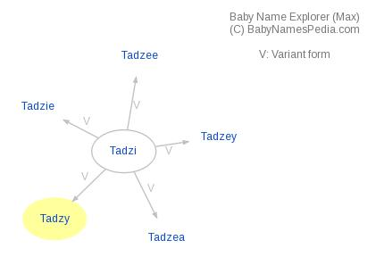 Baby Name Explorer for Tadzy