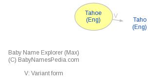 Baby Name Explorer for Tahoe