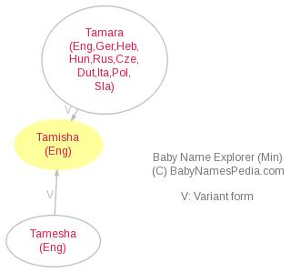 Baby Name Explorer for Tamisha