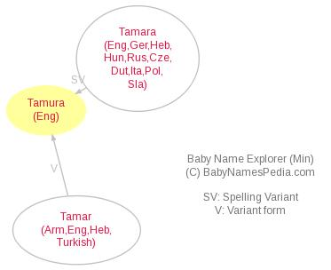 Baby Name Explorer for Tamura