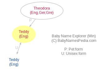 Baby Name Explorer for Teddy