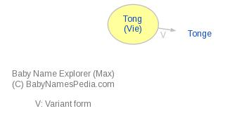 Baby Name Explorer for Tong