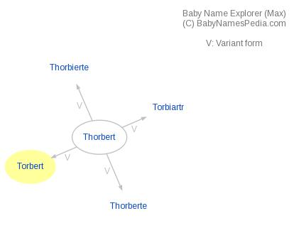 Baby Name Explorer for Torbert