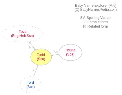 Baby Name Explorer for Turid