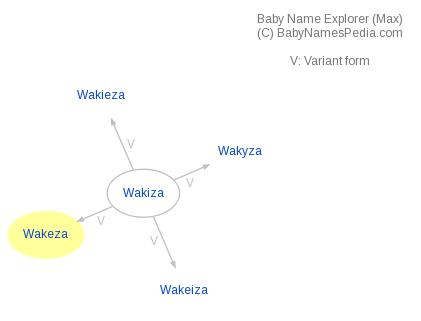 Baby Name Explorer for Wakeza