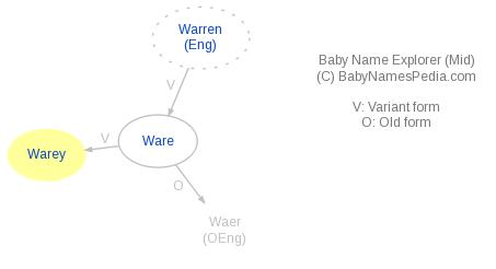 Baby Name Explorer for Warey