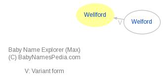 Baby Name Explorer for Wellford