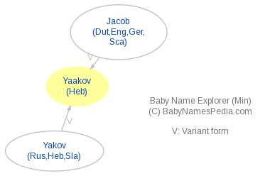 Baby Name Explorer for Yaakov