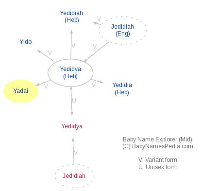Baby Name Explorer for Yadai