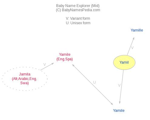 Baby Name Explorer for Yamil
