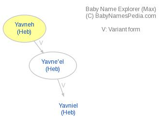 Baby Name Explorer for Yavneh