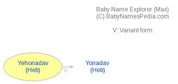 Baby Name Explorer for Yehonadav